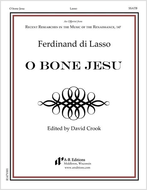 Lasso, F.: O bone Jesu