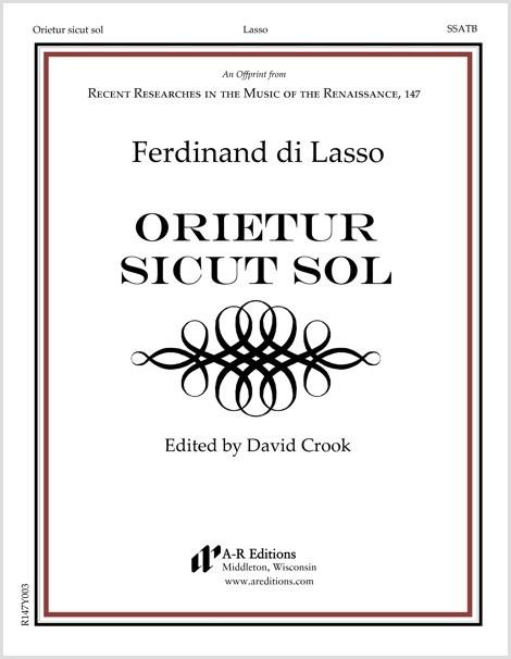 Lasso, F.: Orietur sicut sol