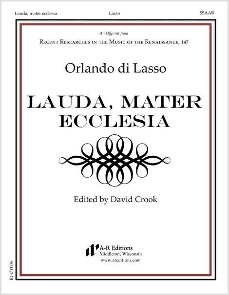 Lasso: Lauda, mater ecclesia