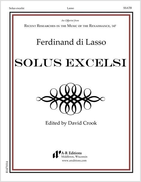 Lasso, F.: Solus excelsi