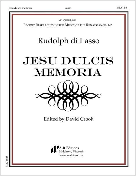 Lasso, R.: Jesu dulcis memoria