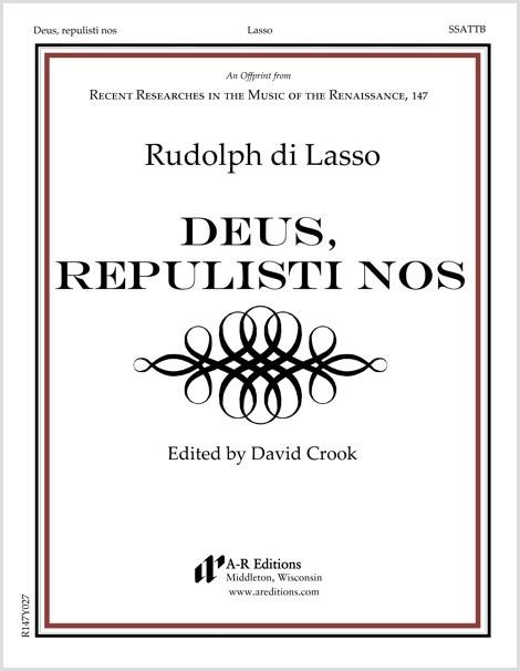 Lasso, R.: Deus, repulisti nos
