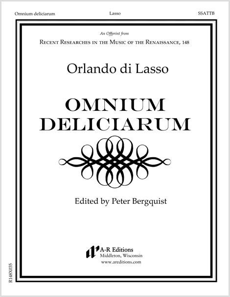 Lasso: Omnium deliciarum