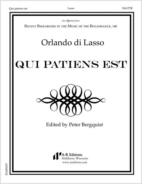 Lasso: Qui patiens est