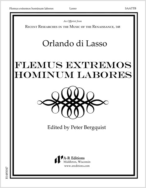 Lasso: Flemus extremos hominum labores