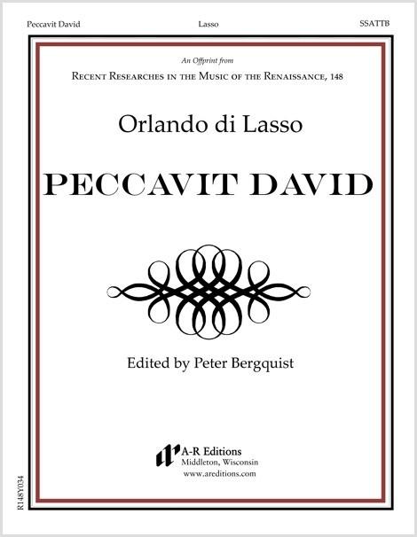 Lasso: Peccavit David