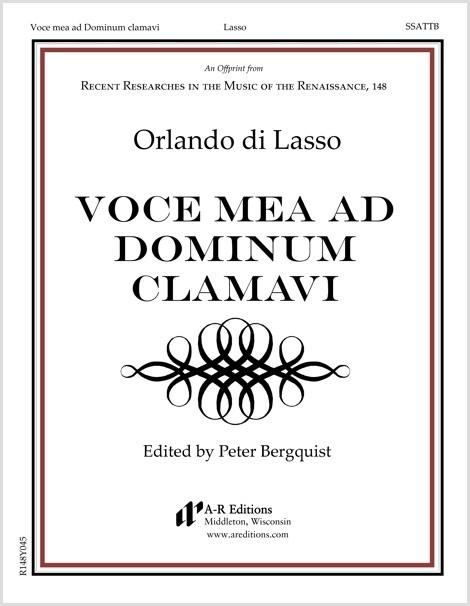 Lasso: Voce mea ad Dominum clamavi