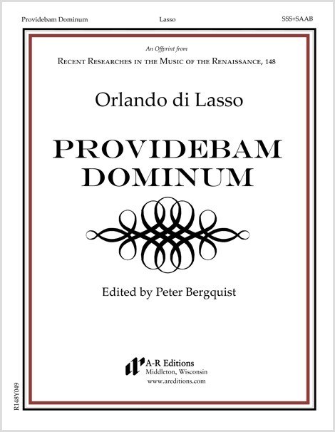 Lasso: Providebam Dominum