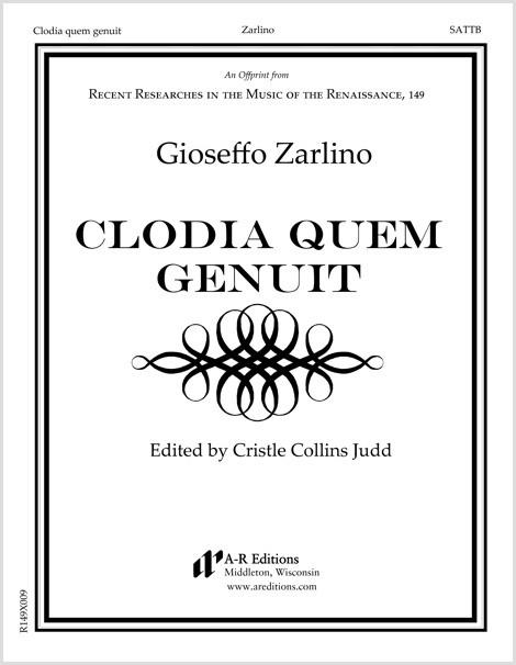Zarlino: Clodia quem genuit
