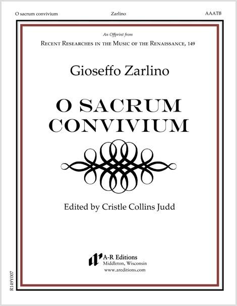 Zarlino: O sacrum convivium
