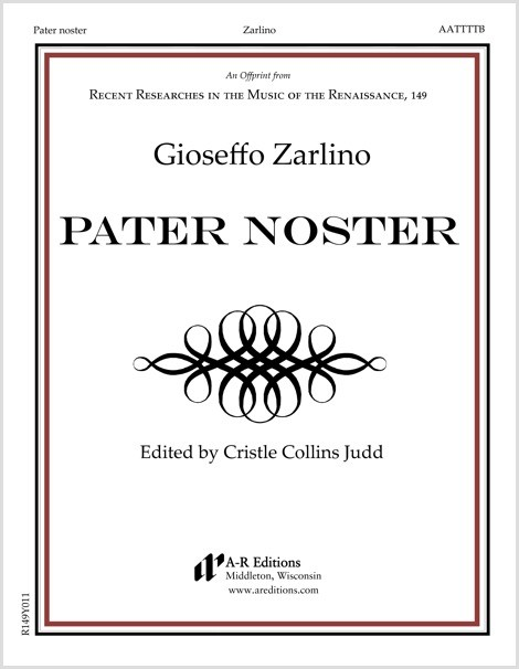 Zarlino: Pater noster