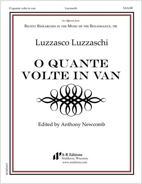 Luzzaschi: O quante volte in van