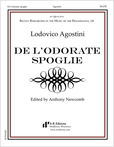 Agostini: De l'odorate spoglie