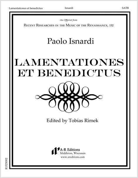 Isnardi: Lamentationes et benedictus