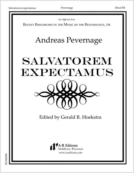 Pevernage: Salvatorem expectamus
