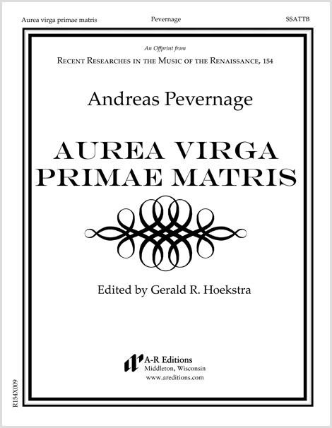 Pevernage: Aurea virga primae matris