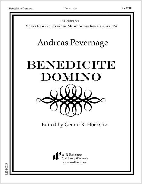 Pevernage: Benedicite Domino