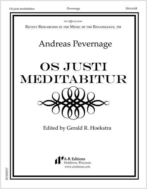 Pevernage: Os justi meditabitur