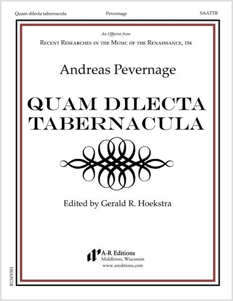 Pevernage: Quam dilecta tabernacula