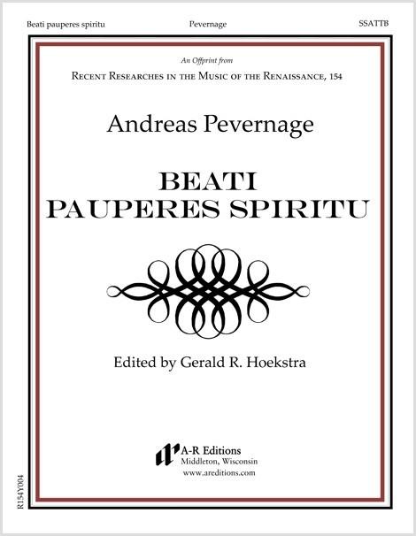 Pevernage: Beati pauperes spiritu