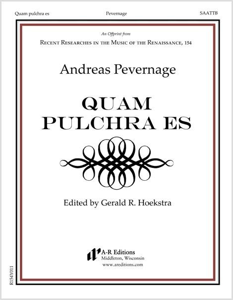 Pevernage: Quam pulchra es