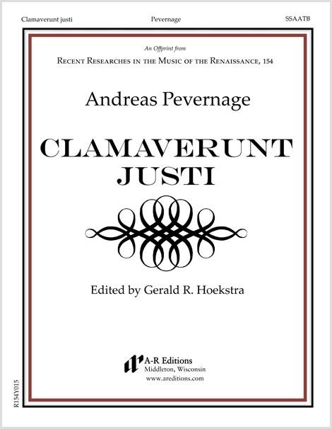 Pevernage: Clamaverunt justi