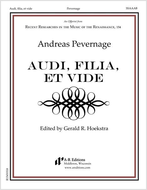 Pevernage: Audi, filia, et vide