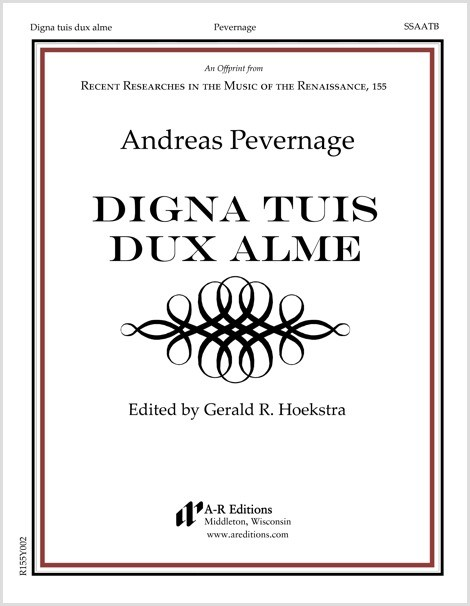 Pevernage: Digna tuis dux alme