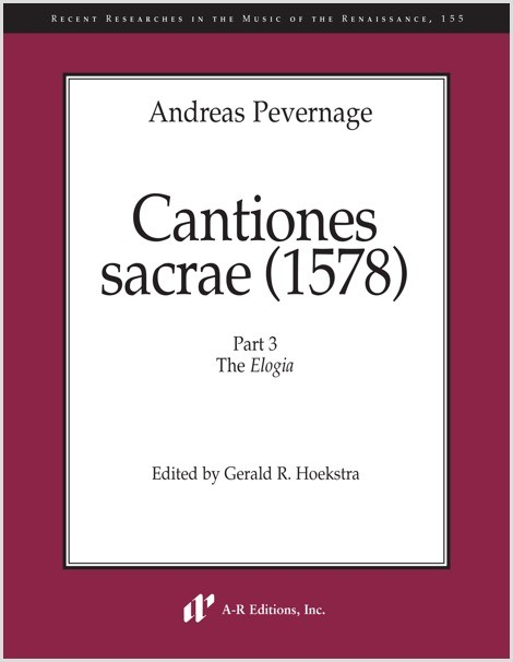 Pevernage: Cantiones sacrae (1578), Part 3