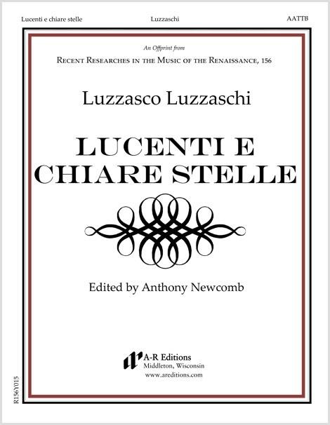 Luzzaschi: Lucenti e chiare stelle