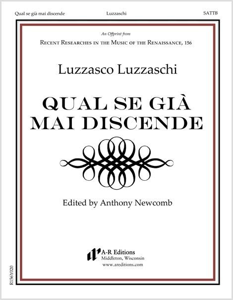 Luzzaschi: Qual se già mai discende