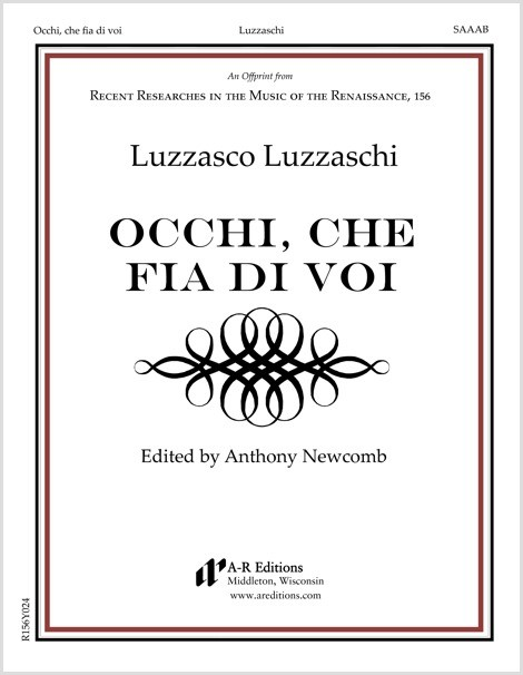 Luzzaschi: Occhi, che fia di voi