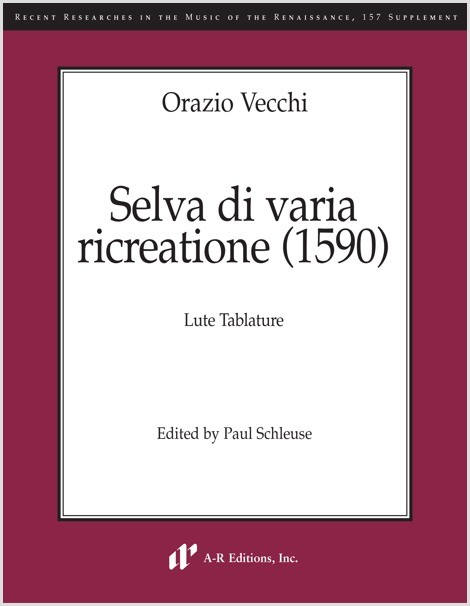 Vecchi: Selva di varia ricreatione (1590) (SUPPLEMENT)
