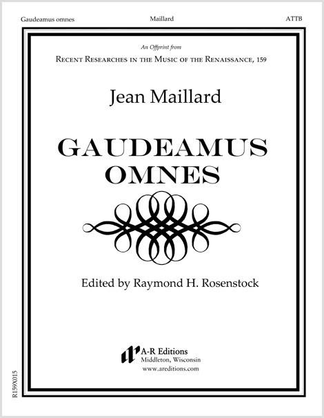 Maillard: Gaudeamus omnes