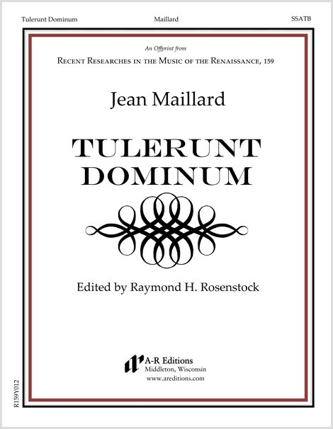 Maillard: Tulerunt Dominum