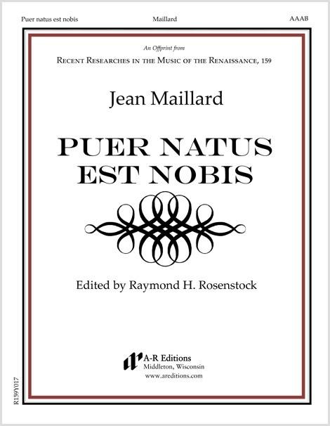Maillard: Puer natus est nobis