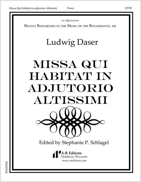Daser: Missa Qui habitat in adjutorio Altissimi