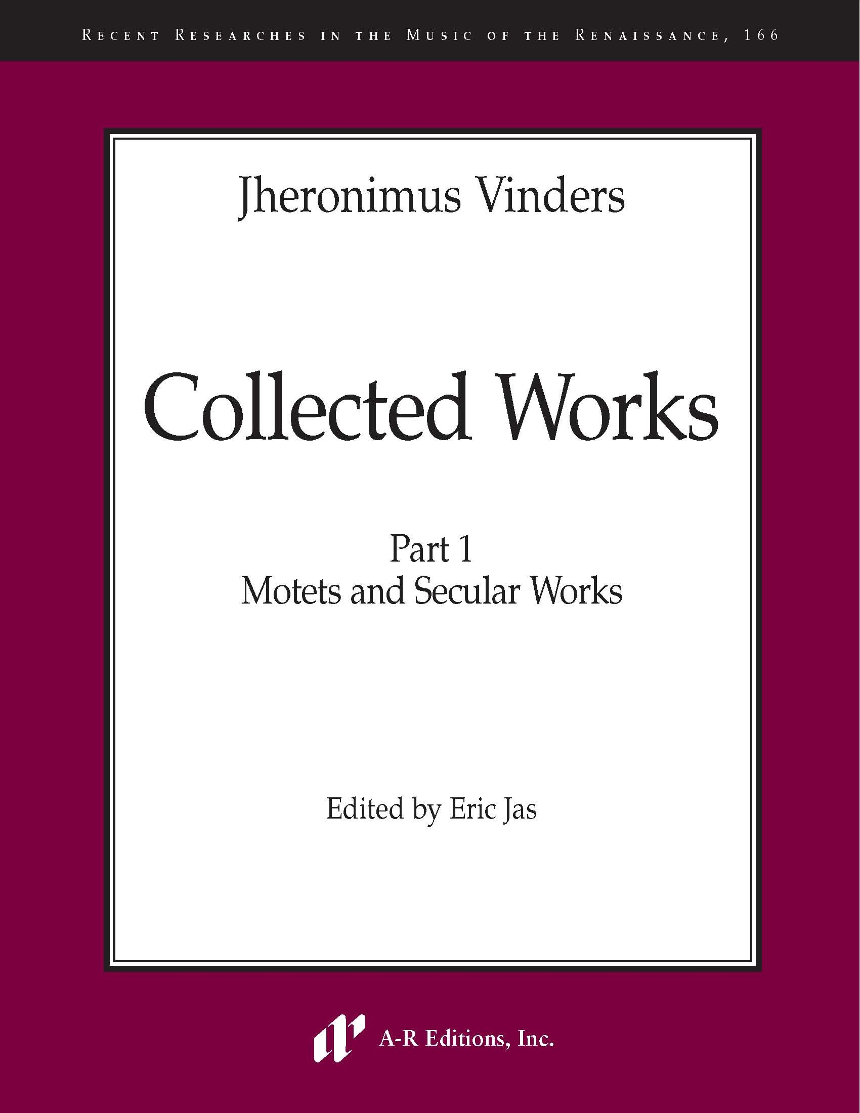 Vinders: Collected Works, Part 1