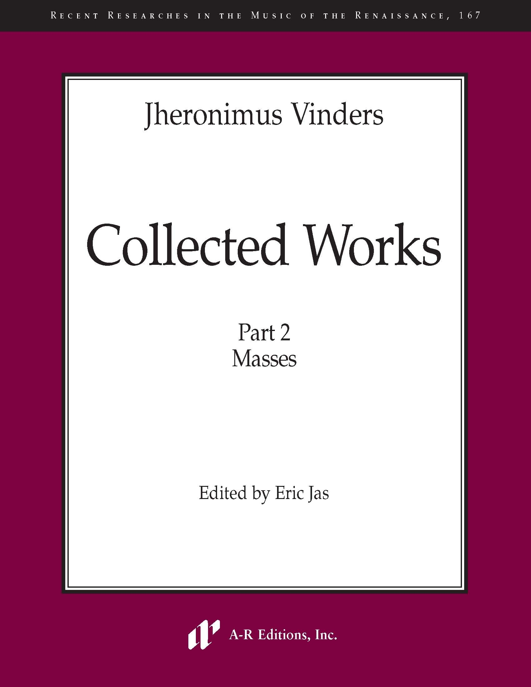 Vinders: Collected Works, Part 2