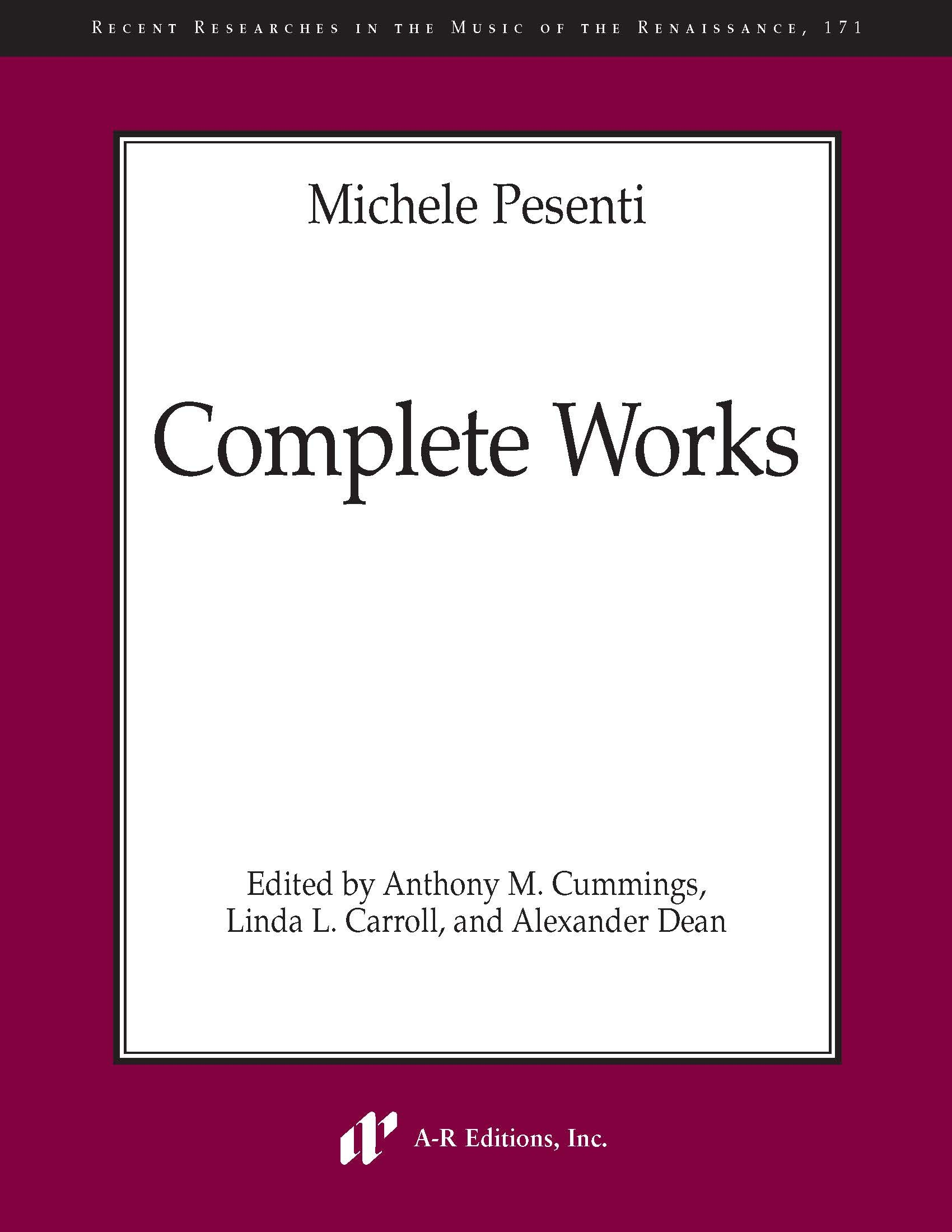 Pesenti: Complete Works