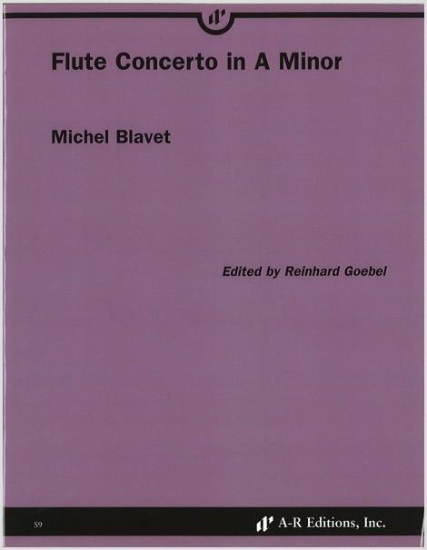 Blavet: Flute Concerto in A Minor