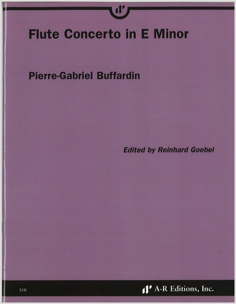 Buffardin: Flute Concerto in E Minor