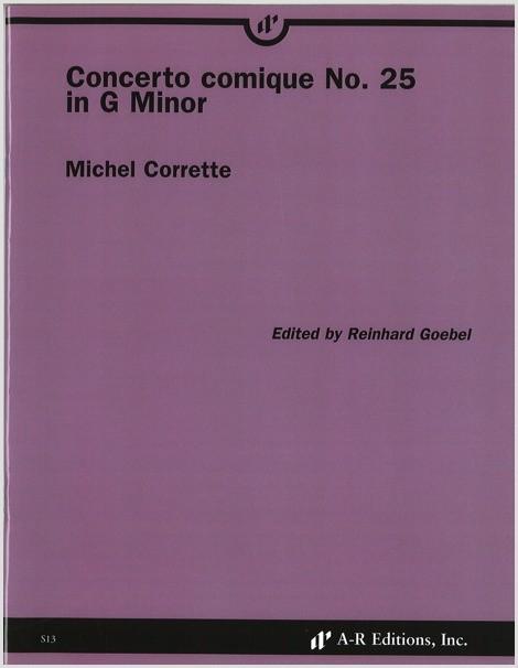 Corrette: Concerto comique No. 25 in G MInor