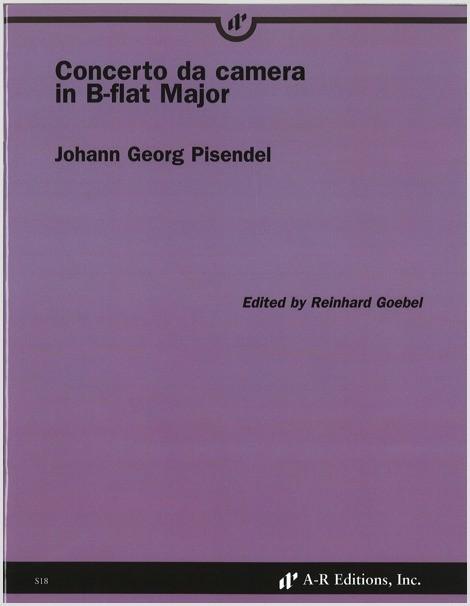 Pisendel: Concerto da camera in B-flat Major