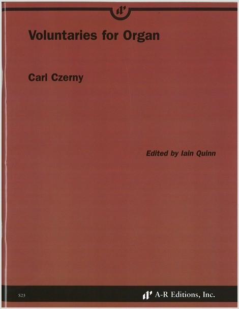 Czerny: Voluntaries for Organ