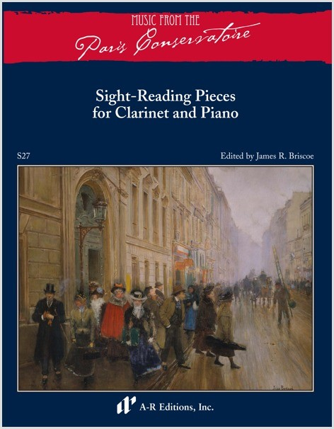 Sight-Reading Pieces for Clarinet and Piano