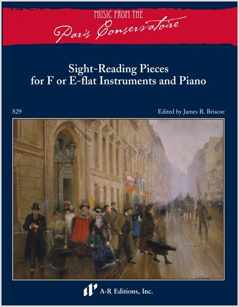 Sight-Reading Pieces for F or E-flat Instruments and Piano