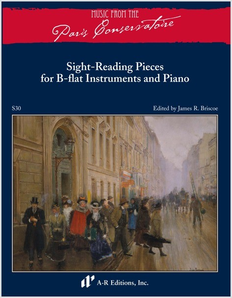 Sight-Reading Pieces for B-flat Instruments and Piano