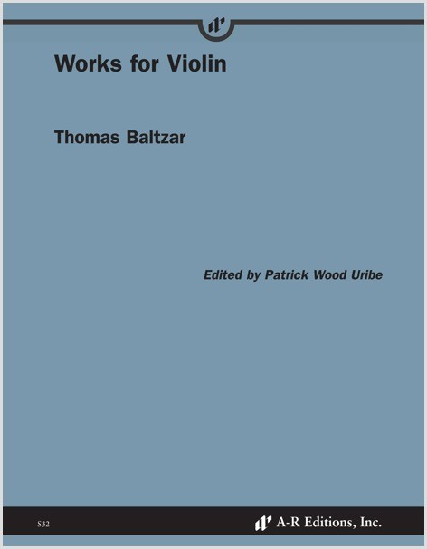 Baltzar: Works for Violin