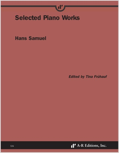 Samuel: Selected Piano Works